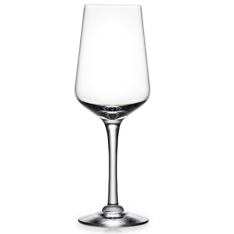 Simon Pearce Vintner white wine glass