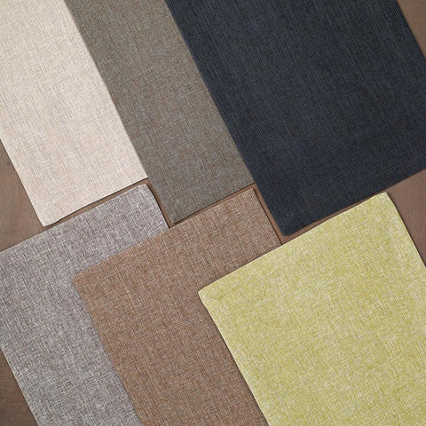 Bodrum Twill coated polyester easy-care placemats