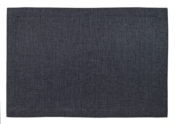 Bodrum Twill coated polyester easy-care placemats, set of 6