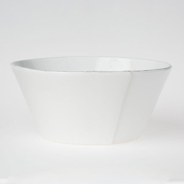 Vietri Lastra Large Stacking Serving Bowl