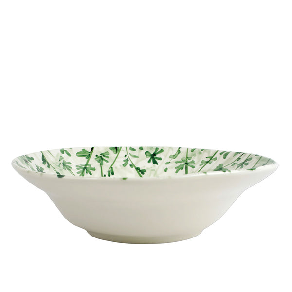 Vietri Erbe Parsley shallow serving bowl