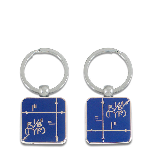 ACME Studio Blueprint key ring