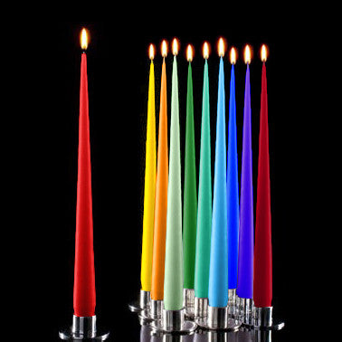 Ester+Erik tall dripless taper candles, boxed set of 12