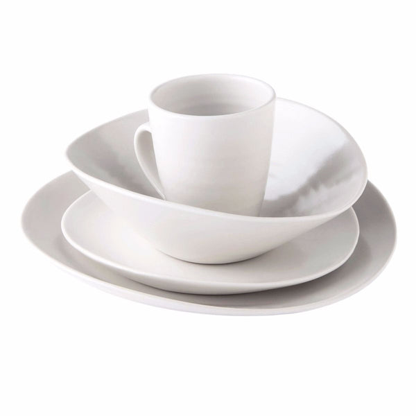 Simon Pearce Barre 4-piece setting with pasta bowl