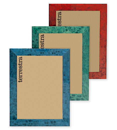 Colorful wood photo frames