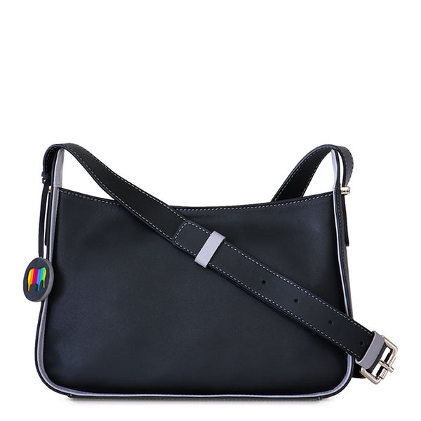 Mywalit Amarante zip top crossbody bag