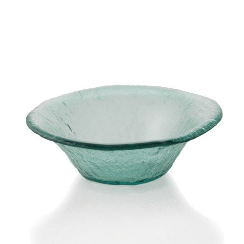 Riverside Elements Gloss recycled glass fruit or dessert bowl