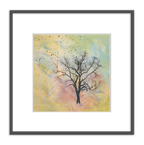 Framed art photography: Home Tree