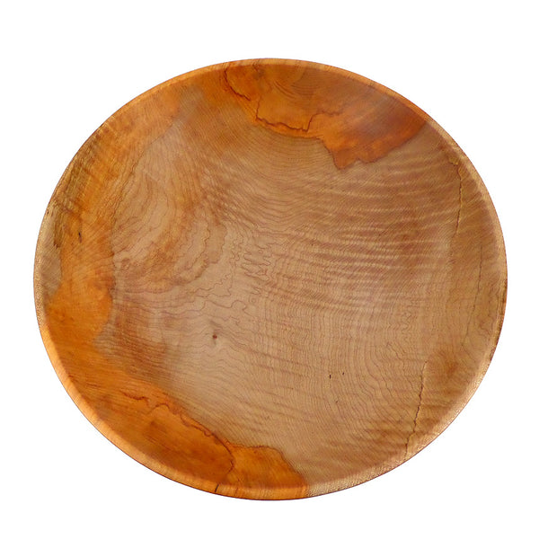 Extra large one-of-a-kind heirloom salad bowl in big-leaf maple