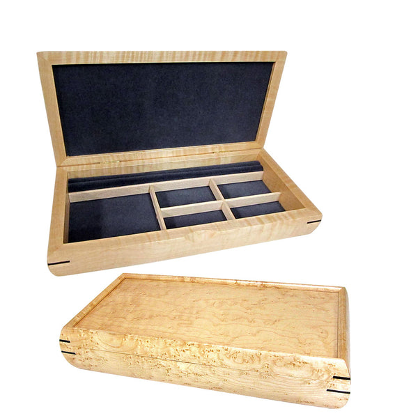 Mikutowski handcrafted wood medium valet box