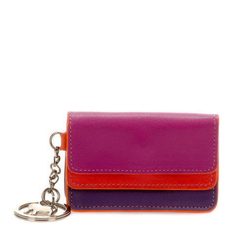 Mywalit mini double-flap coin and key purse