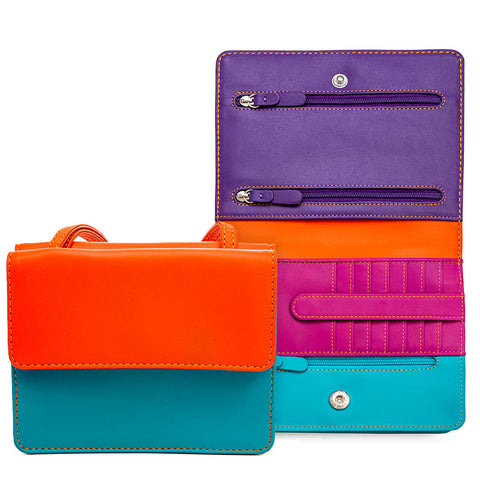 Mywalit colorblock double-flap organizer