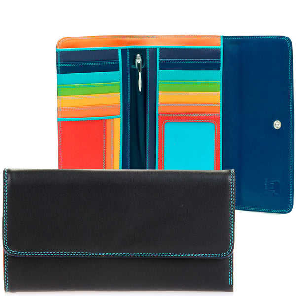 Mywalit large trifold wallet with outer zip