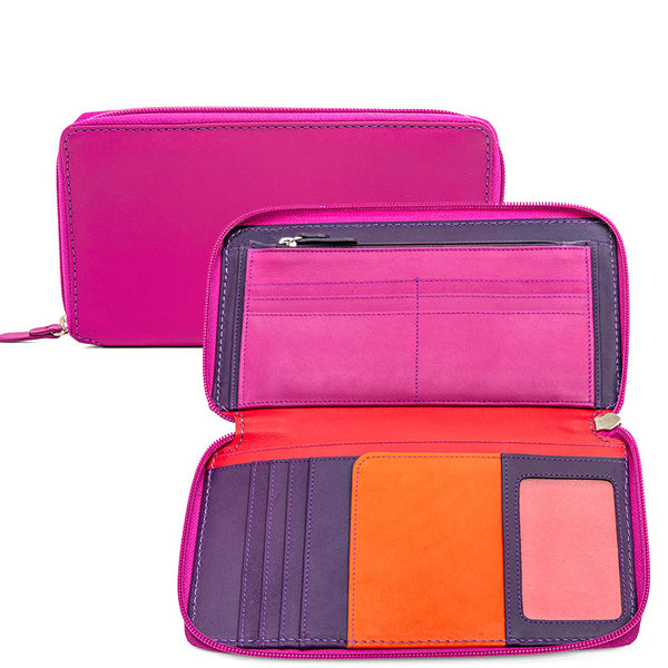 Mywalit colorblock travel wallet