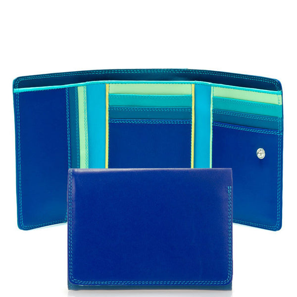 Mywalit trifold wallet with outer zip section