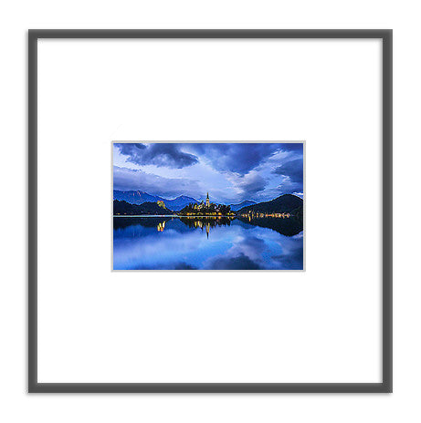 Framed photo: Blue Lake
