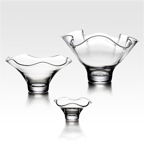 Simon Pearce Chelsea glass bowls