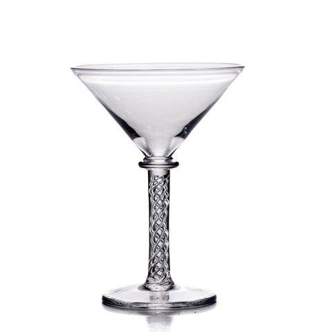 Simon Pearce Stratton martini glass