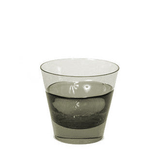 Sugahara Duo Carbon Two Tone Fused Old Fashioned Glass