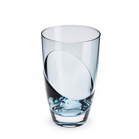 Sugahara Cascade Indigo two-tone fused highball glass
