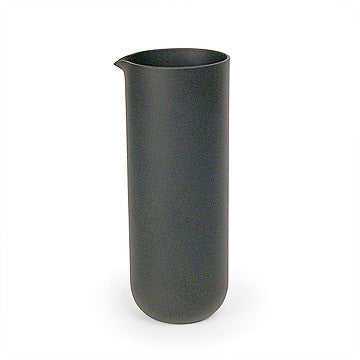 Sugahara Black matte glass pitcher
