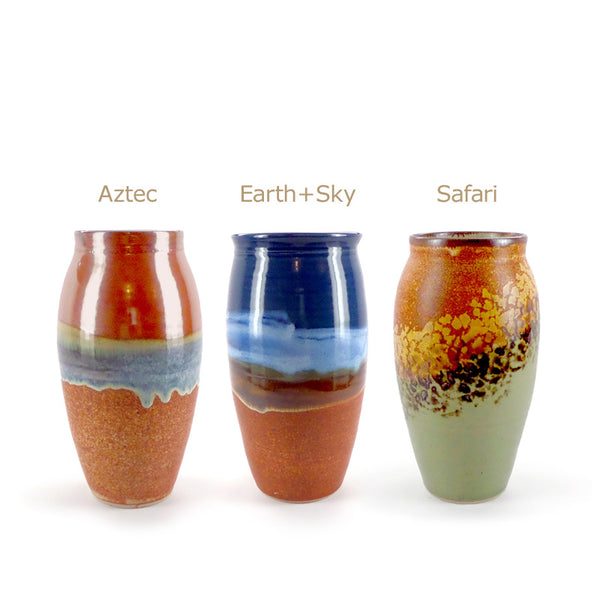 Sunset Canyon small vase