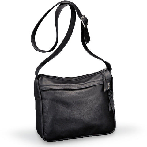 Sven Handbags classic medium leather crossbody