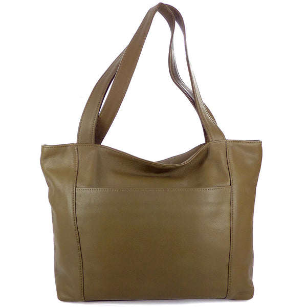 Sven lightweight large leather tote
