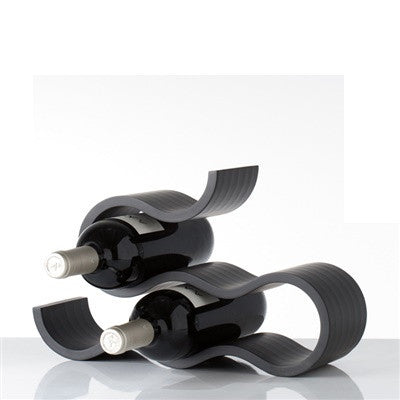 Swirl 6-bottle wine rack