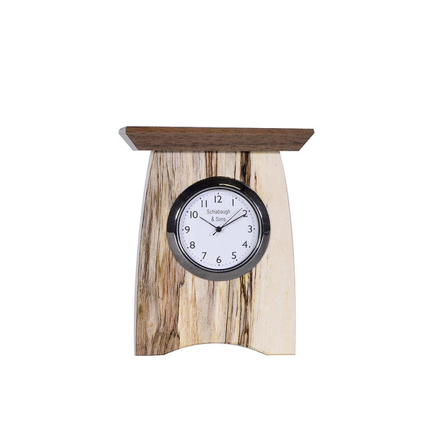 Mini mantel clock, tall