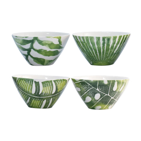 Vietri Into the Jungle cereal bowls, set of 4