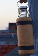 Load image into Gallery viewer, Cork Water Bottle Sleeve