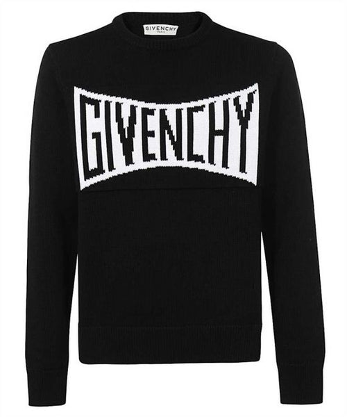 GIVENCHY MENS SUMMER 21 LOGO SWEATER