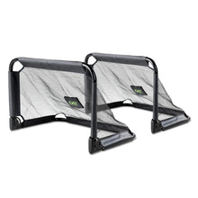 Load image into Gallery viewer, EXIT Pico steel football goal 90x60cm (set of 2) - black