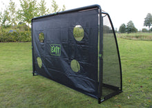 Load image into Gallery viewer, EXIT Finta steel football goal 300x200cm - black