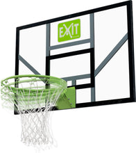 Load image into Gallery viewer, EXIT Galaxy basketball backboard with dunk hoop and net - green/black