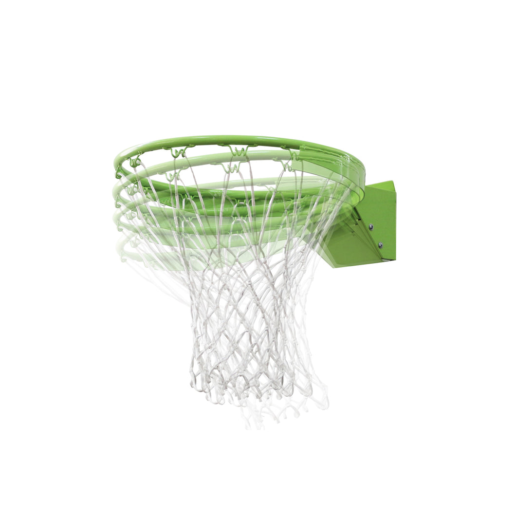 EXIT basketball dunk hoop and net - green