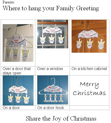 How to use your Christmas greeting