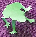 10 plagues easy  frog craft
