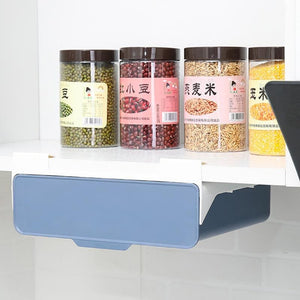 Cabinet Built-in Rack Adhesive Drawer