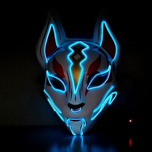 Fox Full Face Neon Mask - Broadwaytrends shop