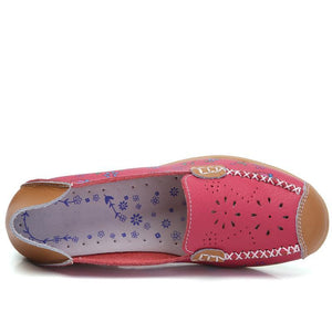 Floral Orthopedic Loafers - Broadwaytrending Shop