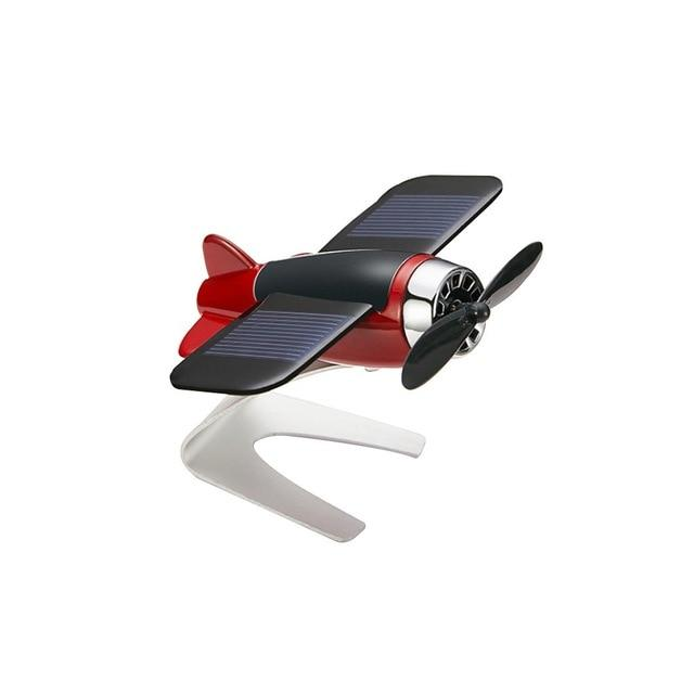 Car Decoration Solar Energy Airplane