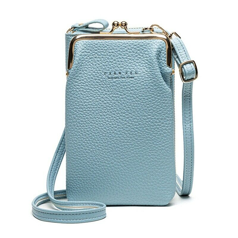 MINI PHONE BAG CROSSBODY BAG PU Leather Wallet Shoulder Pouch