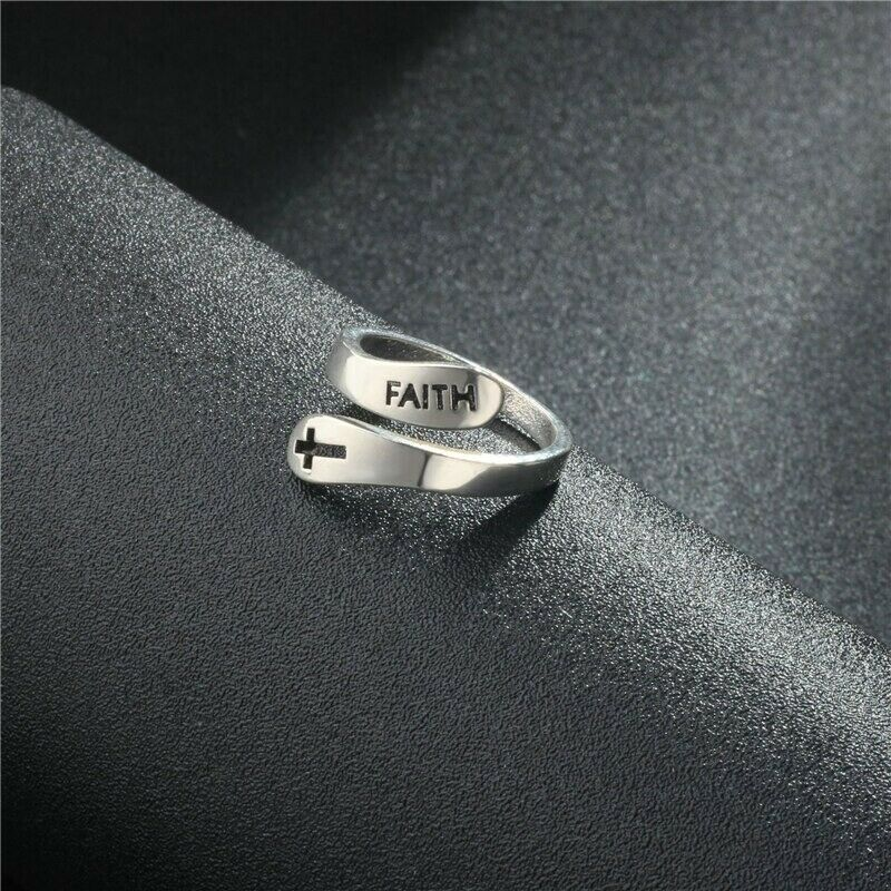 Faith Ring™ Silver