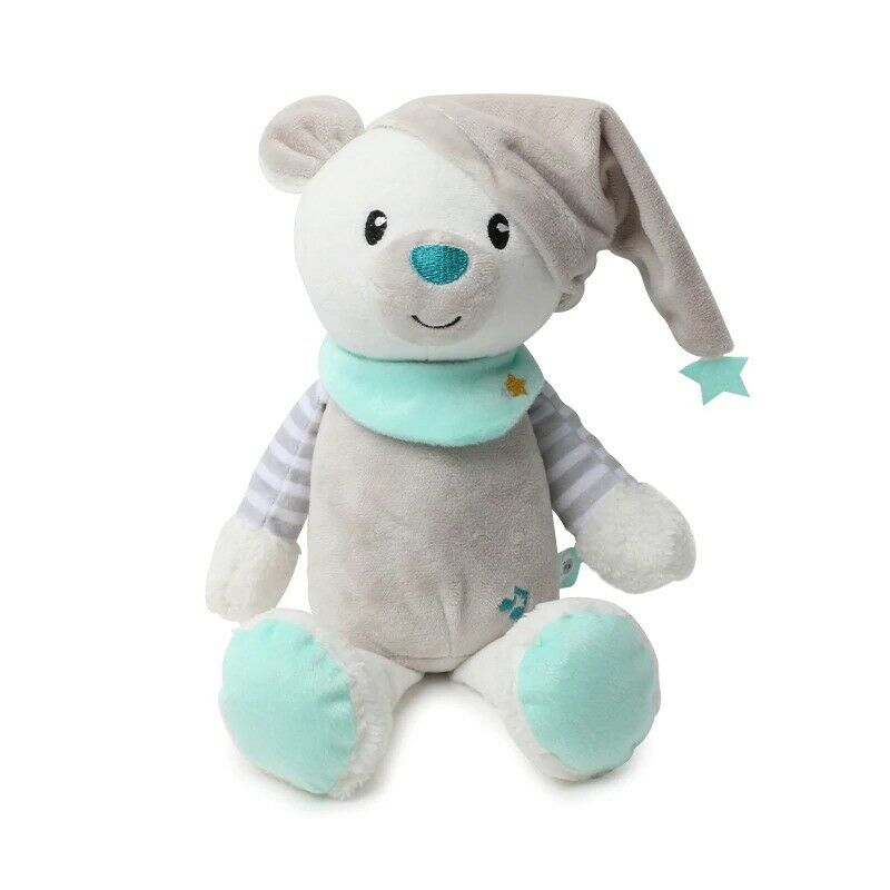 LED LIGHT SOOTHER PLUSH TOY