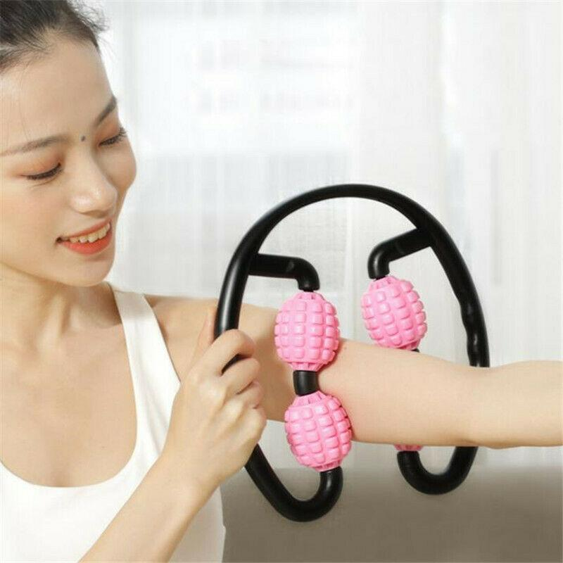 FitRoll™ Pro 360° 4 Wheels Muscles Massager