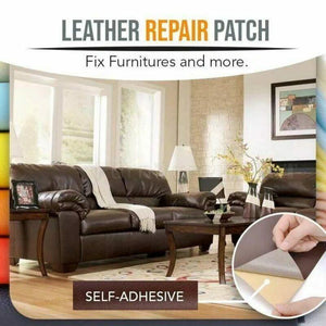 Leather Repair Self-Adhesive Patch (2pcs) Clothing Repairing Fabric big Sticker