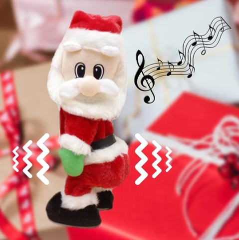 Christmas dolls Gift Musical Dancing electric Twerking Singing Santa Claus toy