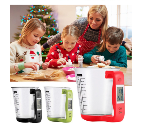 600ml measuring cup with LED display